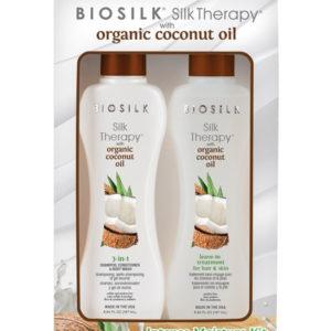 BioSilk Silk Therapy Organic Coconut для интенсивного увлажнения волос